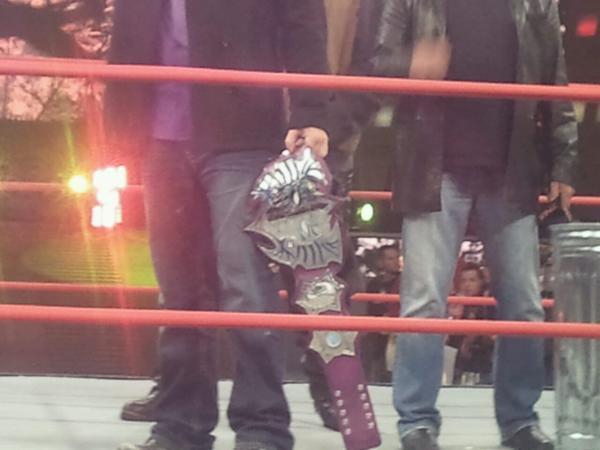 NEW TNA World Heavyweight Title Belt