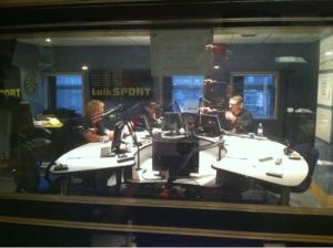 Jeff Jarrett in TalkSport Studios
