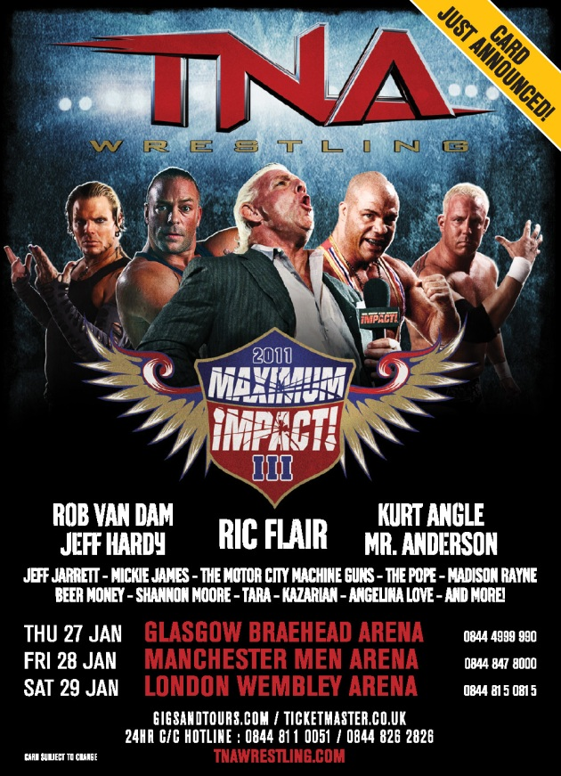 TNA Maximum iMPACT! Tour