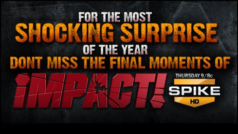 TNA iMPACT! Tuesday Night, 10pm on Challenge