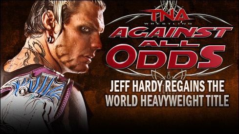 Jeff Hardy - TNA World Heavyweight Champion