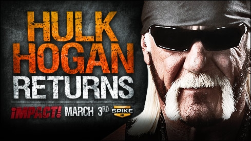 Hulk Hogan returns on iMPACT!