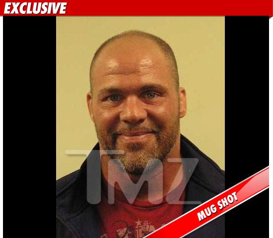 Kurt Angle's Mugshot (Courtesy of TMZ)
