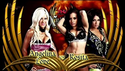 Angelina Love vs. Rosita w/Sarita