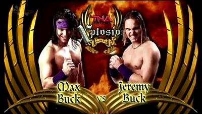TNA Xplosion Exclusive: Max Buck vs Jeremy Buck