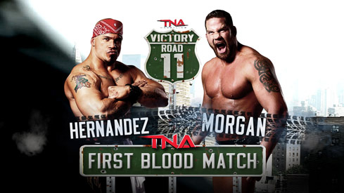 TNA Victory Road 2011: First Blood Match - Hernandez vs. Matt Morgan