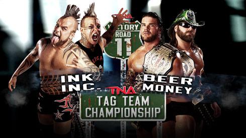 TNA World Tag-Team Title Match: Ink Inc. vs. Beer Money