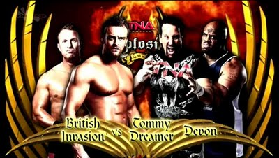 TNA Xplosion: British Invasion vs. Tommy Dreamer & Devon