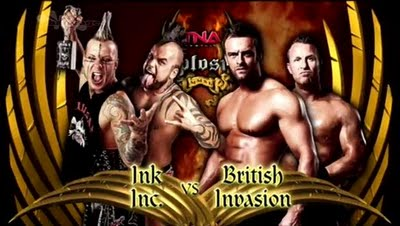 TNA Xplosion - Ink Inc. vs British Invasion
