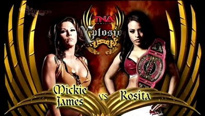 TNA Xplosion - Mickie James vs. Rosita