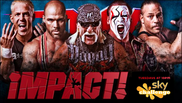 TNA iMPACT!: Tuesday's 10pm on Challenge