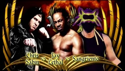 TNA Xplosion: Jay Lethal vs. Chris Sabin vs. Sangrieto