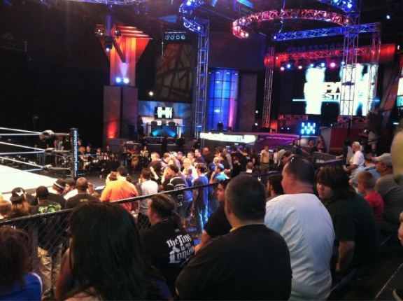 IMPACT WRESTLING TAPINGS - SURPRISE NAMES IN ATTENDANCE?