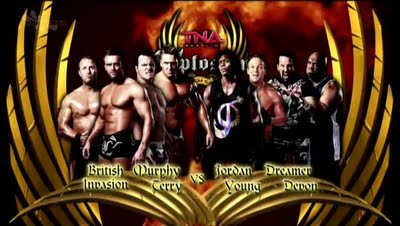 TNA Xplosion: 8-Man Tag Match