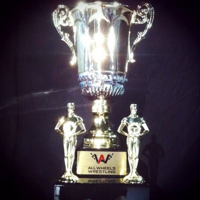 All Wheels Wrestling Winners Trophy