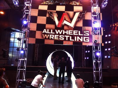 All Wheels Wrestling: Entrance Way