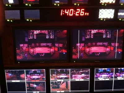 All Wheels Wrestling: View from the Production Truck